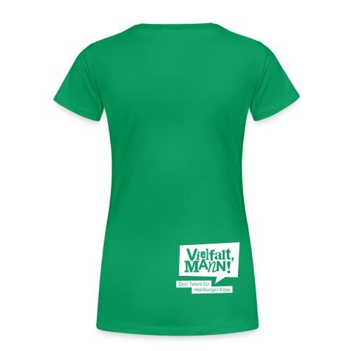 Frauen-Shirt figurbetont Motiv Beatboxer - Frauen Premium T-Shirt