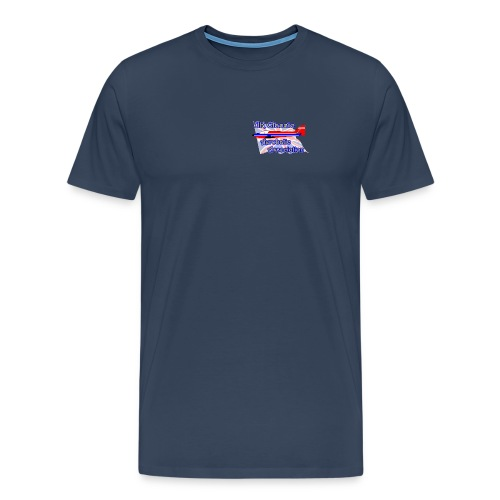 UKCAA T shirt - for the larger build - Men's Premium T-Shirt