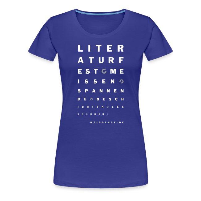 literaturfest-sehtest-girlieshirt (blau)