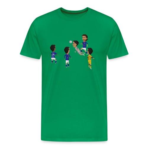Men T-Shirt - America goalkeeper goal - Men's Premium T-Shirt