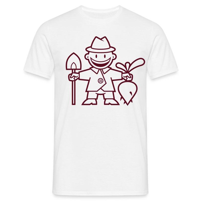 vl098a_gaertner_1c - Männer T-Shirt