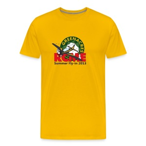 Greenacres RCM&E 2013 Fly-in T shirt with custom text  - Men's Premium T-Shirt