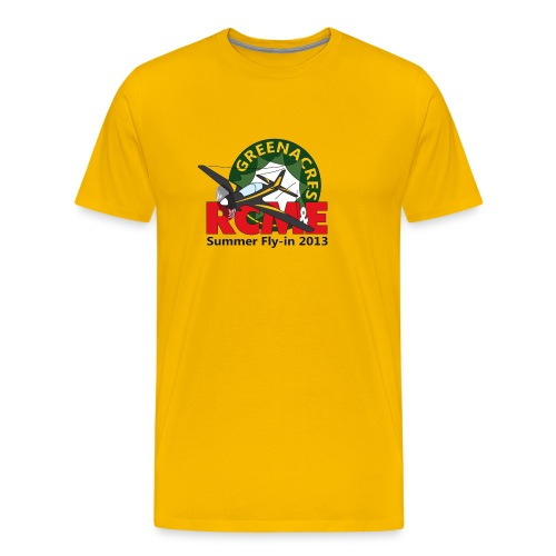 Greenacres RCM&E 2013 Fly-in T shirt with custom text  - Men's Premium T-Shirt