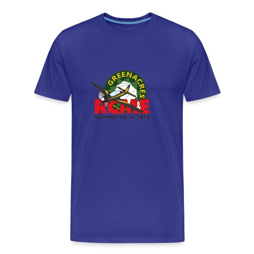 Greenacres RCM&E 2013 Fly-in T shirt  - Men's Premium T-Shirt