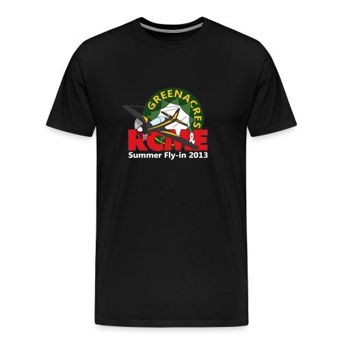 Greenacres RCM&E 2013 Fly-in T shirt 3XL+ - Men's Premium T-Shirt