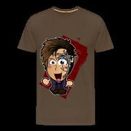 T-Shirts ~ Men's Premium T-Shirt ~ Chibi Doctor - Mr Clever Shirt (Male)