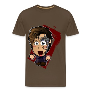 Chibi Doctor - Mr Clever Shirt (Male) - Men's Premium T-Shirt