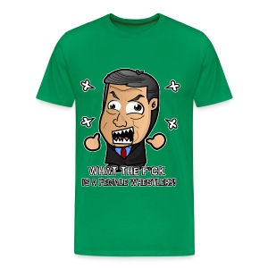 Chibi McMahon - What the Hell is a Diva (Male) - Men's Premium T-Shirt