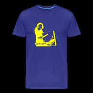 Camisetas ~ Camiseta premium hombre ~ Pandero Cuadrado