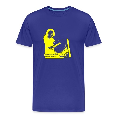 Pandero Cuadrado - Camiseta premium hombre
