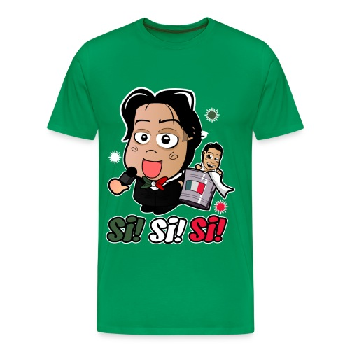 Chibi Ricardo Rodriguez - Si Shirt (Male) - Men's Premium T-Shirt