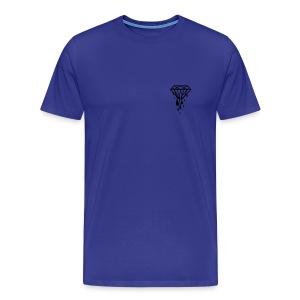 Diamond Design Slim fit T-Shirt - Men's Premium T-Shirt