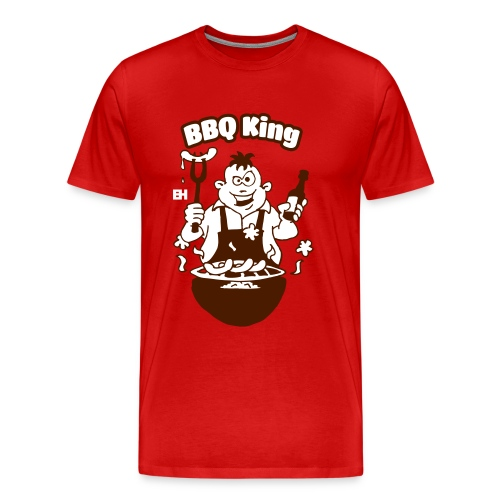 BBQ King - Grillfest - Men's Premium T-Shirt