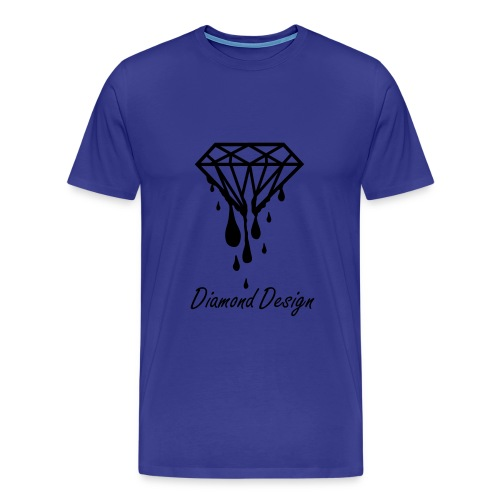Diamond Design Male Standard Top - Men's Premium T-Shirt