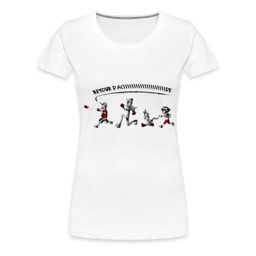 Retour d'acide femme (transfert) - T-shirt Premium Femme