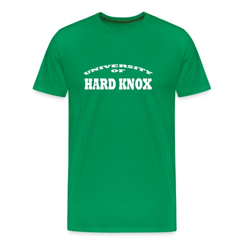 The University of Hard Knox - Mannen Premium T-shirt