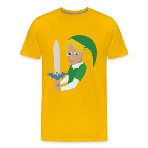 Herp Skerp (Men's) - Men's Premium T-Shirt