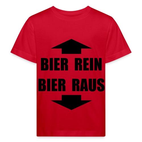 BIER REIN BIER RAU - Kinder Bio-T-Shirt