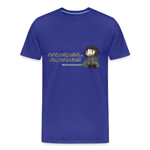 T-shirt citazioni Arabong1 - Svarione degli Anelli - Maglietta Premium da uomo
