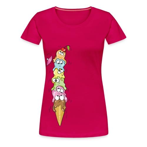 Gelato in equilibrio - Maglietta Premium da donna
