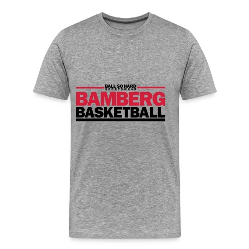 Bamberg Basketball T-Shirt - Männer Premium T-Shirt