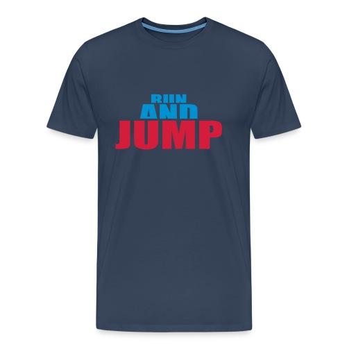 Run and Jump T-Shirt - Männer Premium T-Shirt
