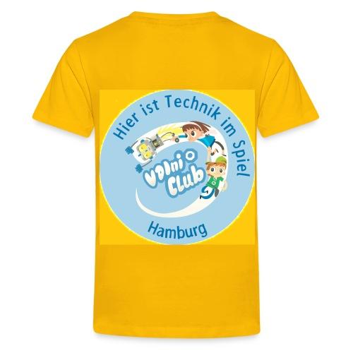 VDIni-Club Hamburg - T-Shirt Teenager - Gelb - Teenager Premium T-Shirt