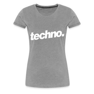Girl Shirt techno. #2 - Frauen Premium T-Shirt