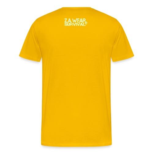 Zombie Apocalypse - Shirt yellow - Männer Premium T-Shirt