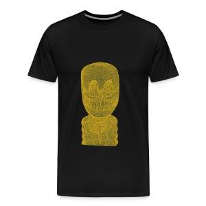 ghekko skull glow - Men's Premium T-Shirt