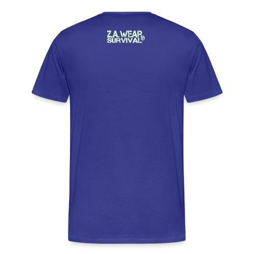 Zombie Apocalypse - Shirt blue - Männer Premium T-Shirt