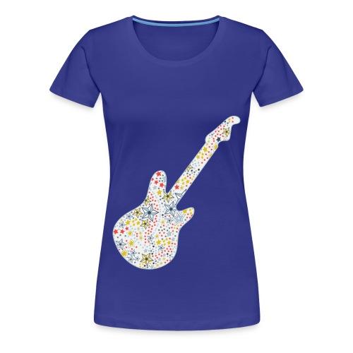 Women Guitar Stars - Women's Premium T-Shirt