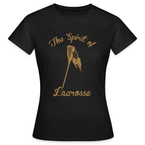 Spirit of Lacrosse *girly* - Frauen T-Shirt