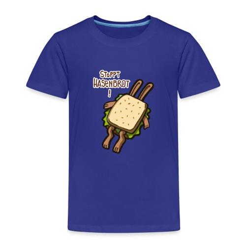 Stopppt Hasenbrot! color - Kinder Premium T-Shirt