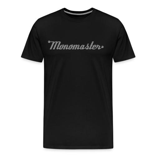 Logo front; Übergröße - Männer Premium T-Shirt