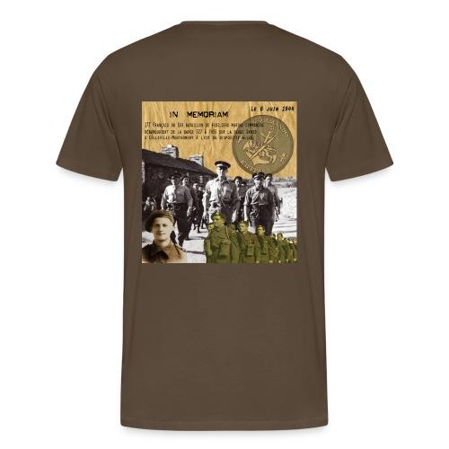 T-SHIRT premium homme commando Kieffer - T-shirt Premium Homme