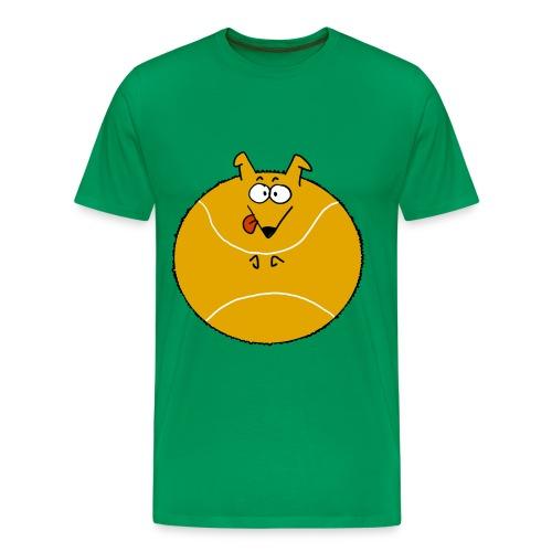 Camiseta pasión border collie - Camiseta premium hombre