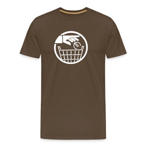 T-SHIRT premium homme euro poubelle - T-shirt Premium Homme