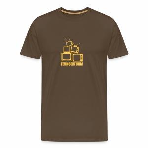 Fernsehturm, Kerl - Männer Premium T-Shirt