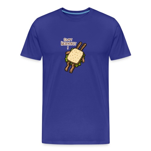 Stopppt Hasenbrot! color - Männer Premium T-Shirt