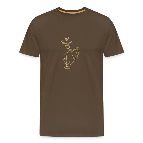 Monsta Da lang hell - Männer Premium T-Shirt