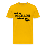 T-Shirts ~ Men's Premium T-Shirt ~ Shine on Ruchazie Diamond