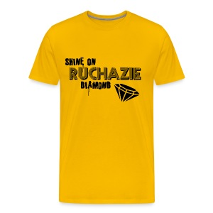 Shine on Ruchazie Diamond - Men's Premium T-Shirt