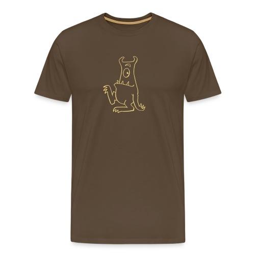 Monsta Hä? hell - Männer Premium T-Shirt