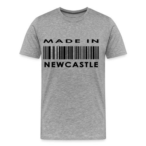 Mens Made In Newcastle - Men's Premium T-Shirt