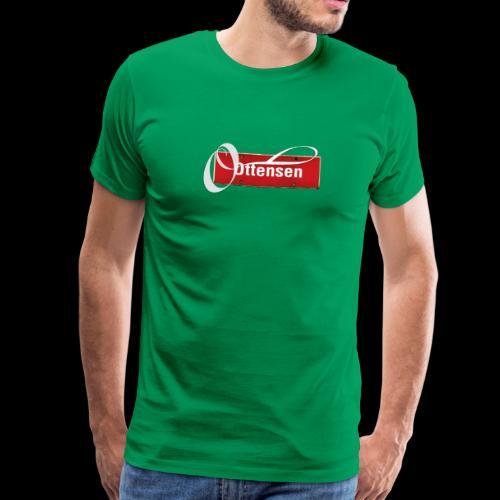 Ottensen Ortsschild Initial - Männer Premium T-Shirt