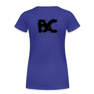 BC-Shirt Girls, Logo back black - Frauen Premium T-Shirt