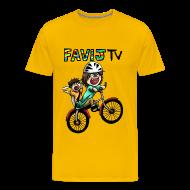 Magliette ~ Maglietta Premium da uomo ~ Happy Wheels!