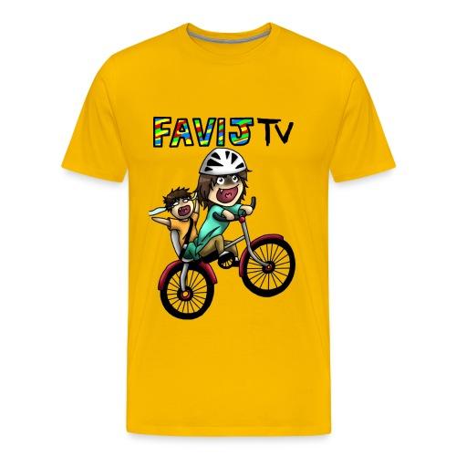 Happy Wheels! - Maglietta Premium da uomo