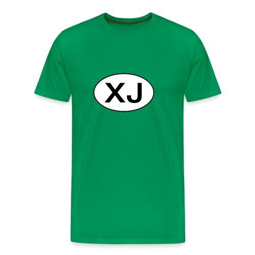 Jeep XJ Oval - Men's Premium T-Shirt